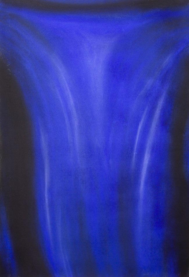 Blue Crucifixion Contemporary Abstract Crucifixion Of Jesus Christ